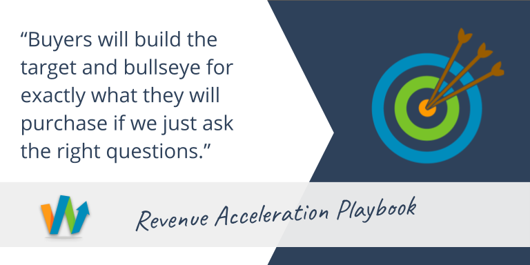 Buyers built the target and bullseye if we just ask the right questions